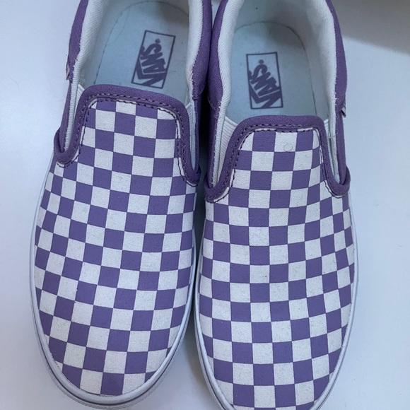 Vans Shoes   Purple Asher   Poshmark